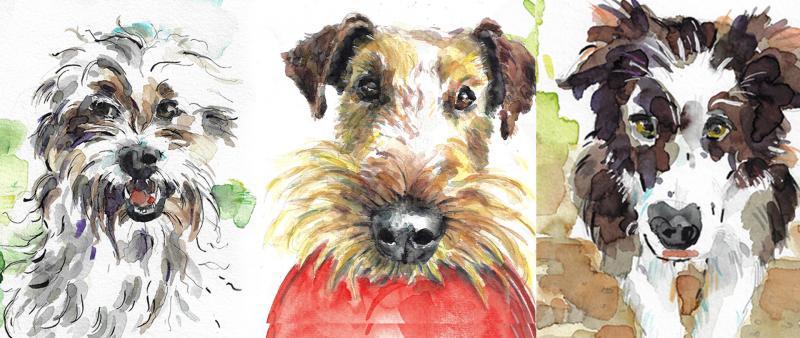 Kompaktworkshop – Hunde sketchen!