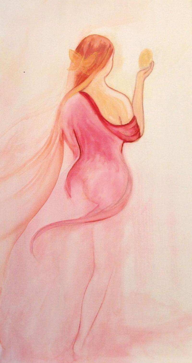 Weiblichkeit in ihrer Sinnlichkeit und Stärke mit Freude zum Ausdruck bringen