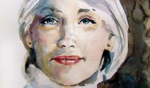 Portrait Aquarell