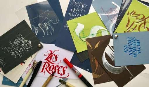 Kalligrafie & Schreibinstrumente - Einführung in verschiedene Schreibtechniken