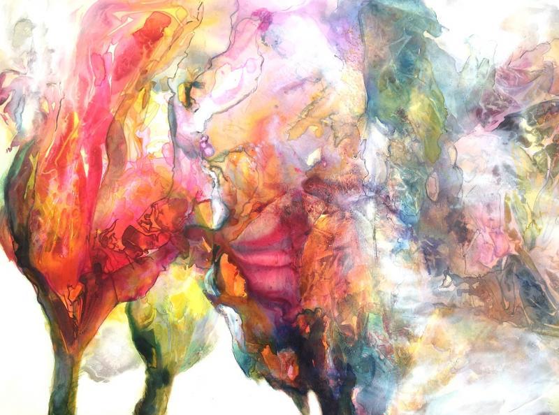 Expressives Aquarell - Eine Melange aus Tradition und Moderne