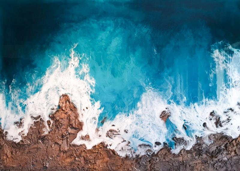 Resin -  eine Aufsehen erregende Form der Malerei