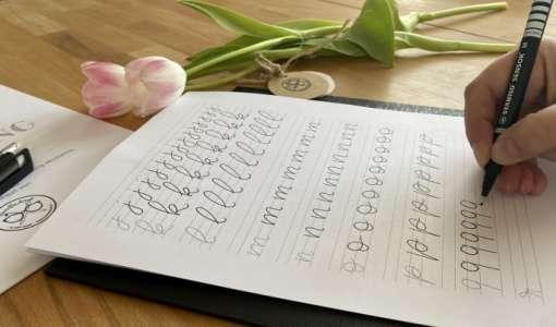 Handlettering – Einführung in die Kunst des Schönschreibens
