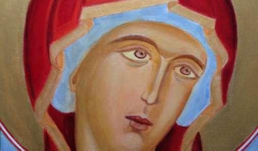 Ikonenmalerei mit modernen Materialien für Einsteiger